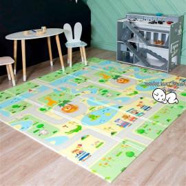 Термоковрик Зоопарк складной 150*200 и 180*200 для детской комнаты