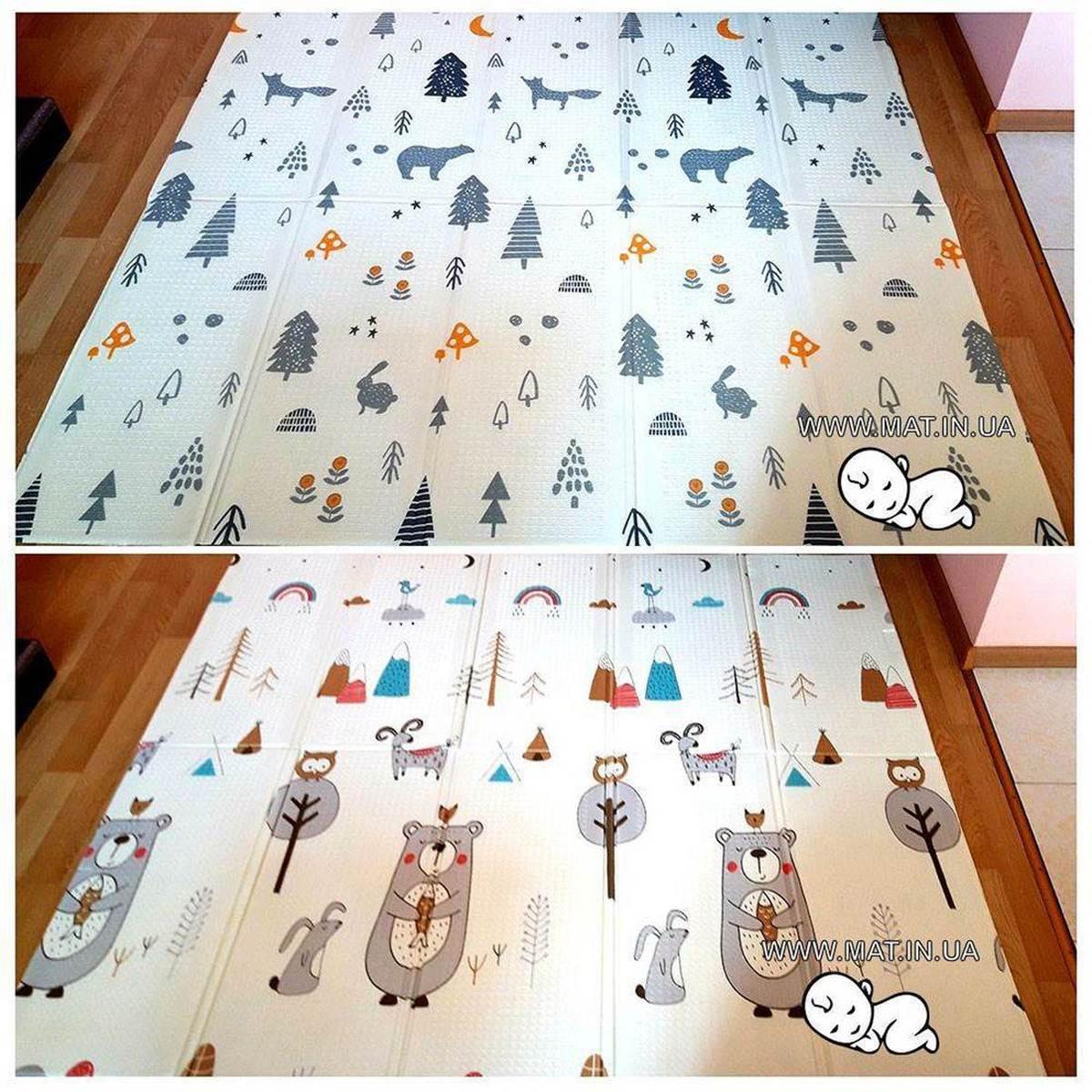 коврик для новорожденных Медведь-Лес