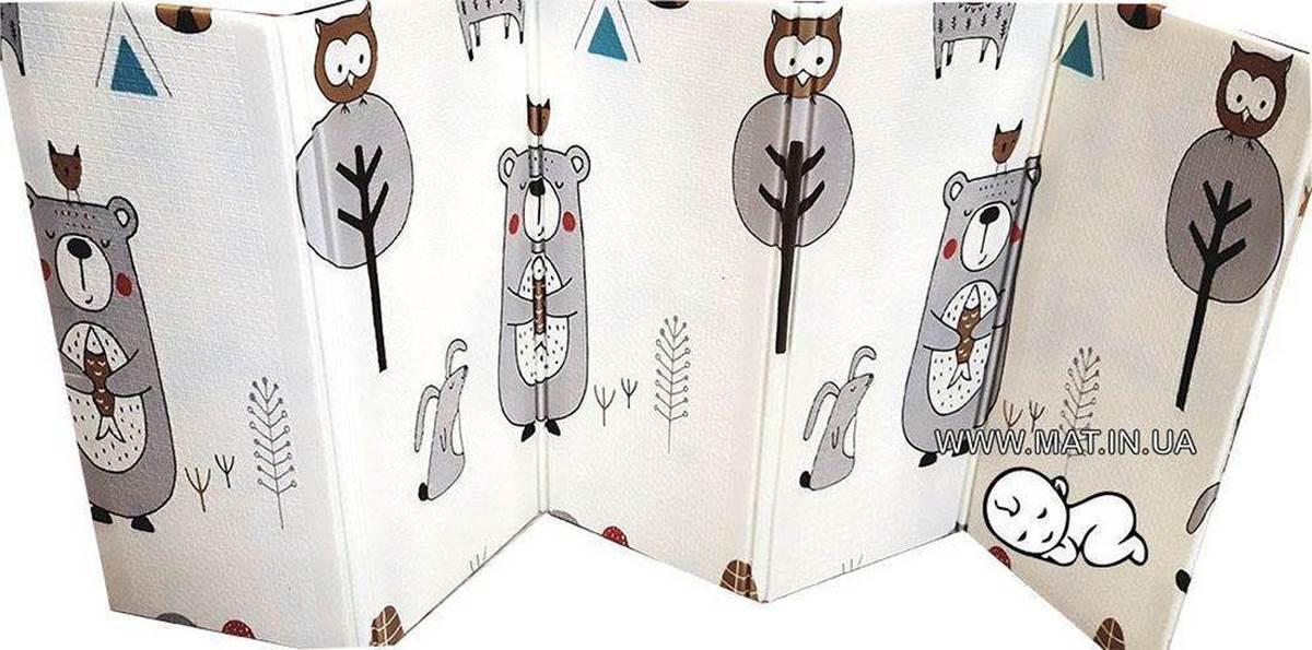 развивающий коврик для ползания Медведь-Лес детский Купить в Харькове
