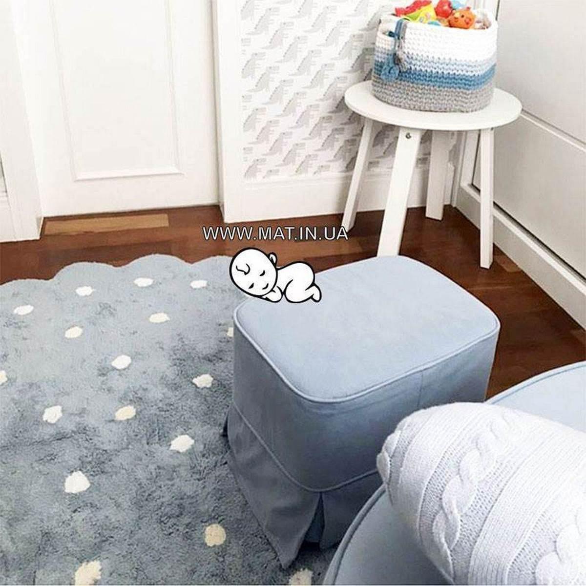 Хлопковый ковер для детской комнаты для детей