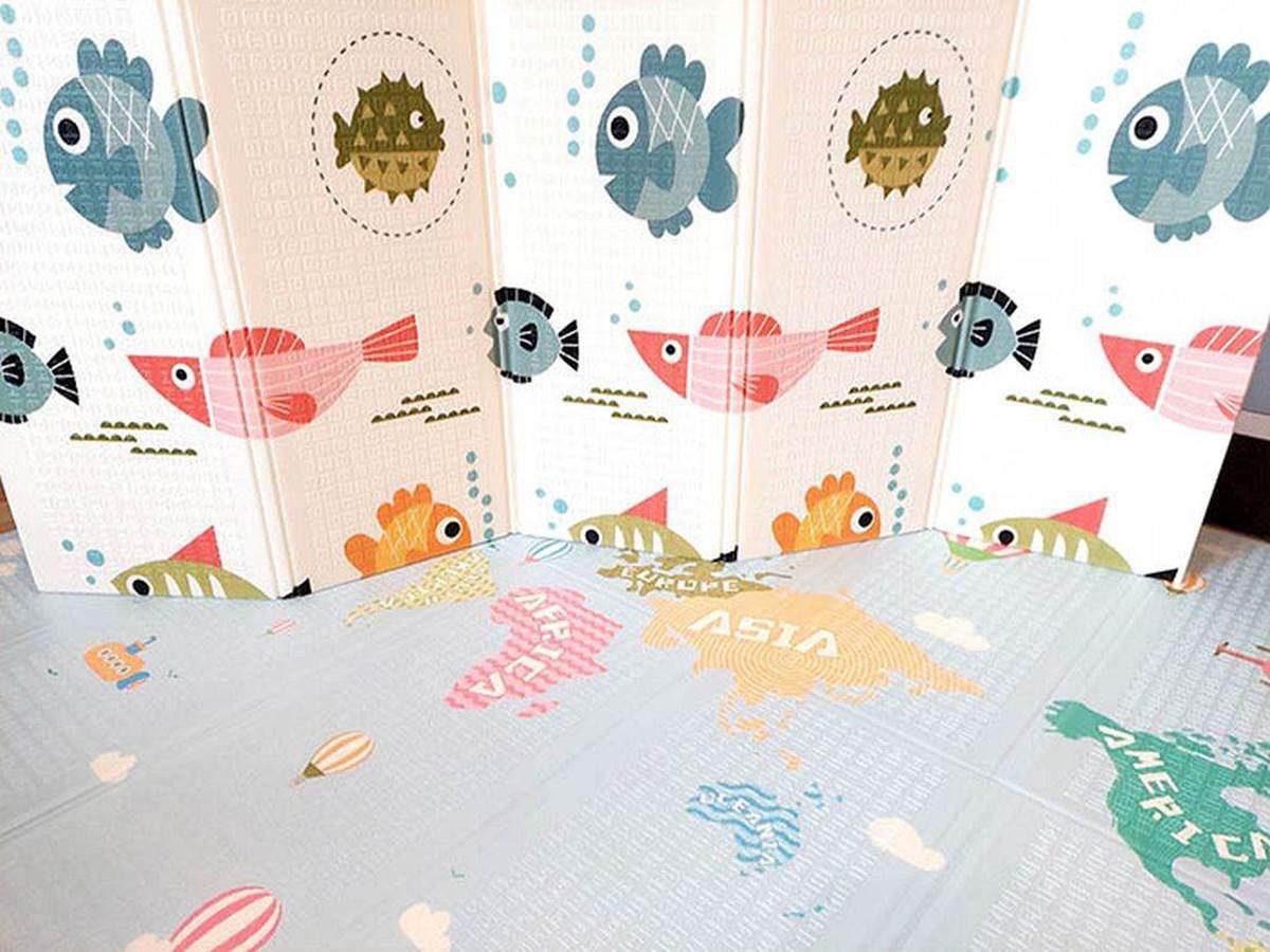 Купить коврик для малыша Рыбки-Карта в Харькове