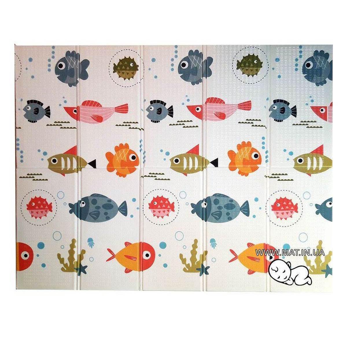 Купить коврик для ползания малыша Рыбки-Карта в Украине
