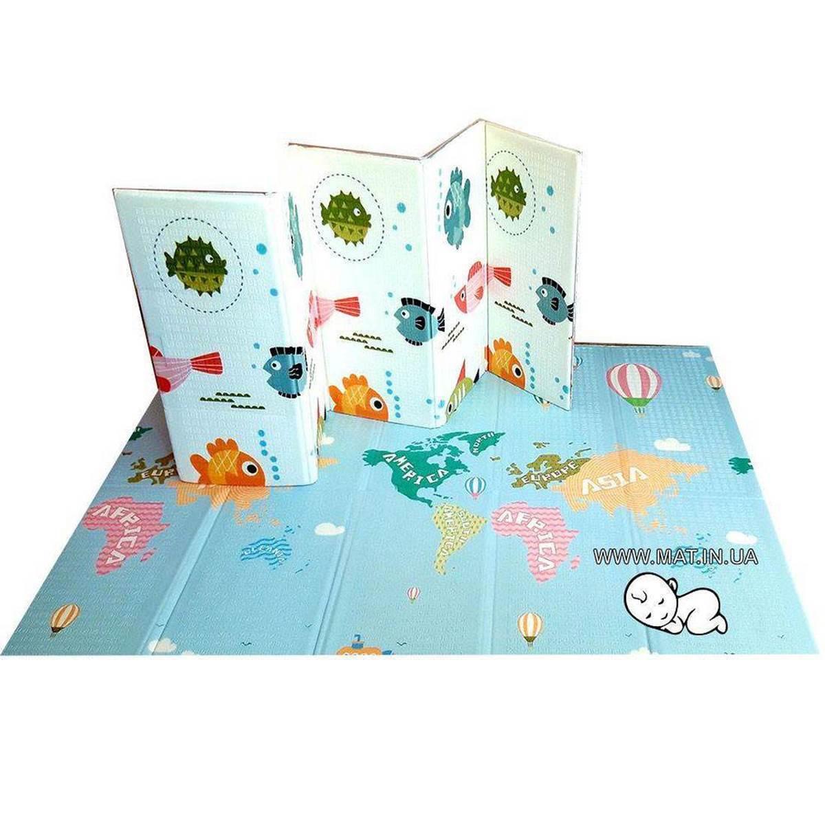 Купить  развивающий коврик для детей Рыбки-Карта в Украине