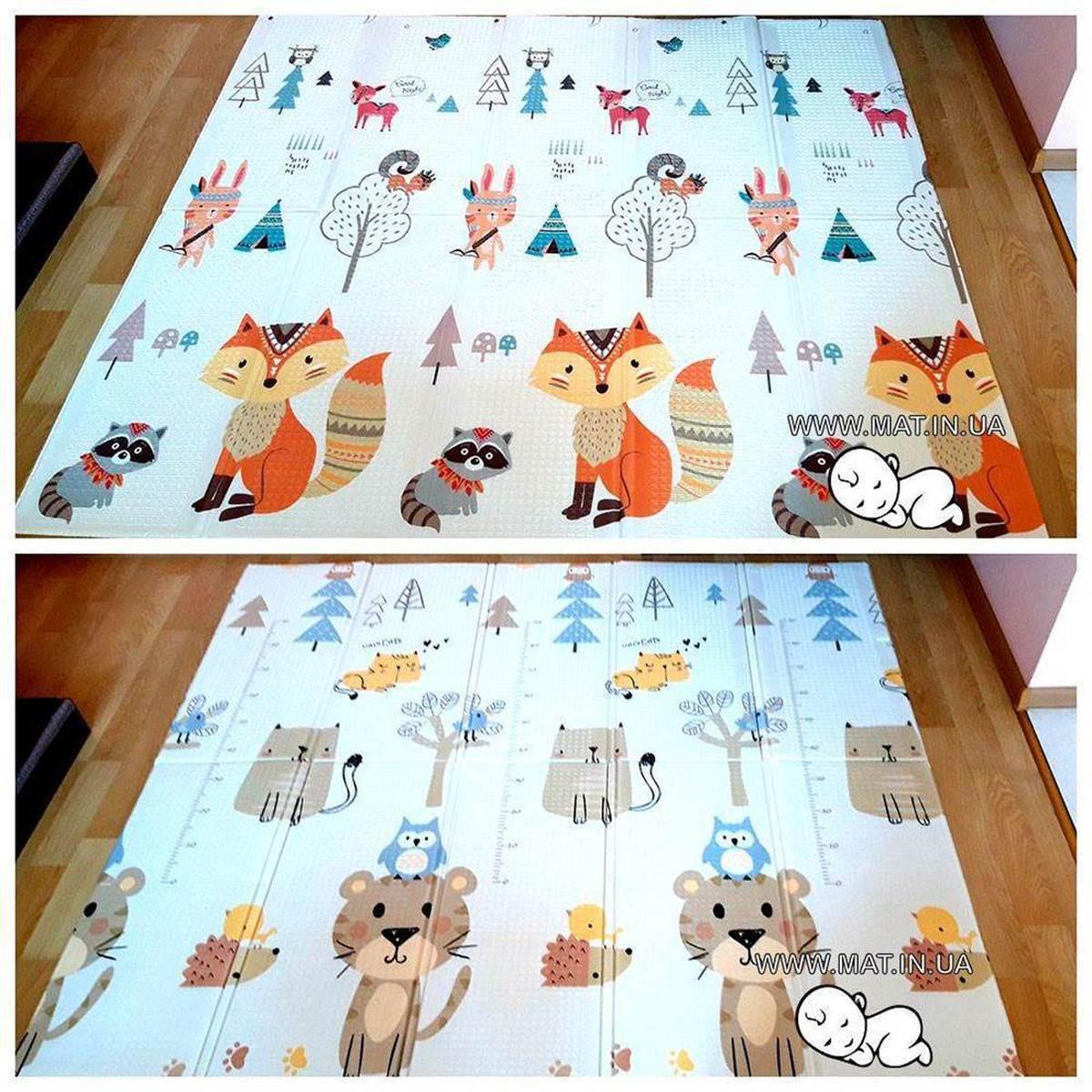 развивающий коврик для детей Лиса-Тигр купить в Украине