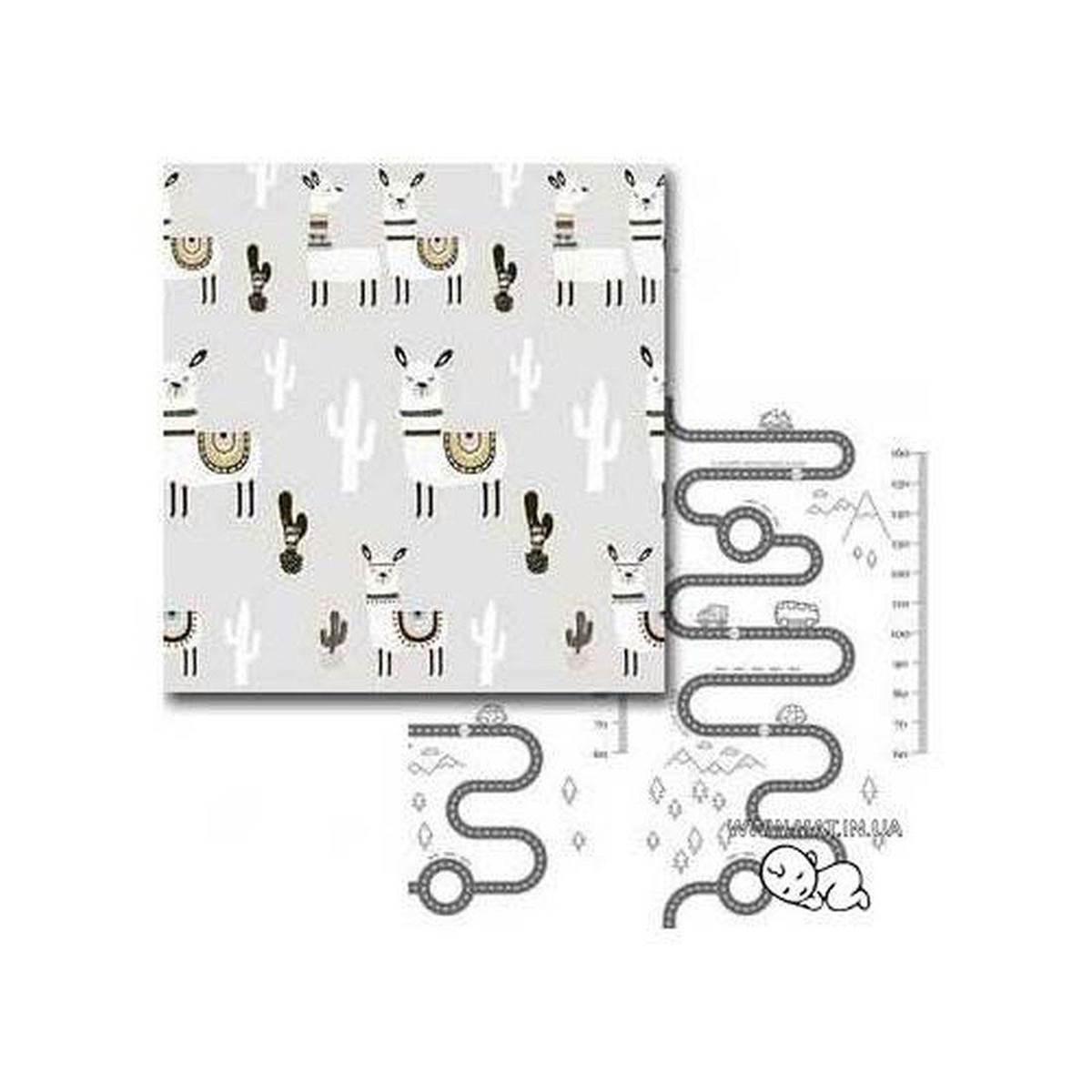 термоковрик лама-дорога